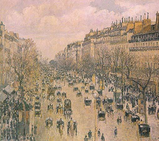 pissarro Бульвар Монмартр в Париже 1897.jpg (510x450, 73Kb)