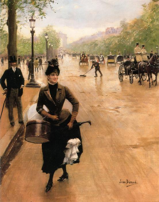 La_Modiste_Sur_Les_Champs_Elysees jean beraud 1849-1936.jpg (553x699, 162Kb)