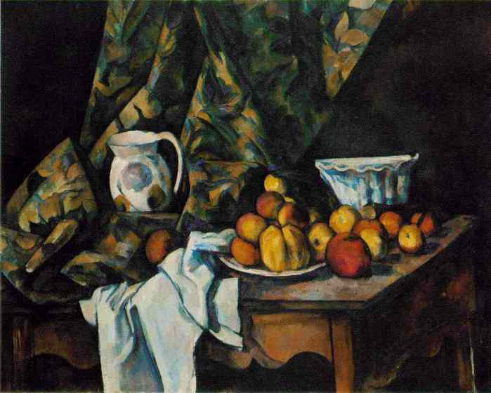 cezanne Still Life with Flower Holder'  1905.jpg (699x560, 31Kb)