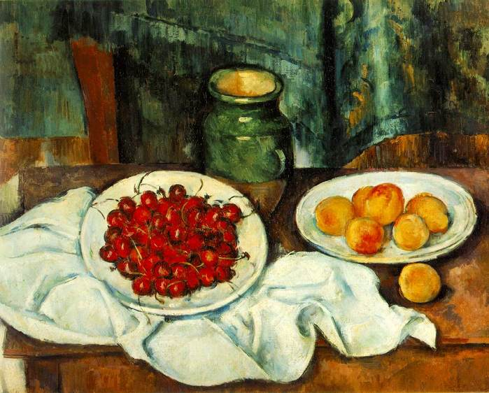 Still Life with Plate of Cherries 1885 ������.jpg (699x562, 68Kb)