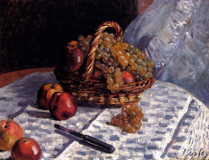 Sisley_Alfred_Still_Life_Apples_And_Grapes1876.jpg (700x536, 274Kb)