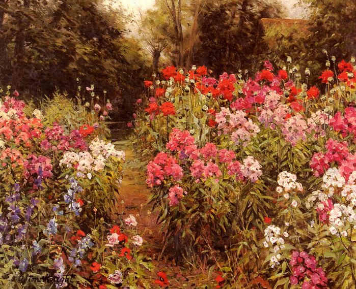 Луи Астон Найт _A_Flower_Garden.jpg (699x569, 291Kb)