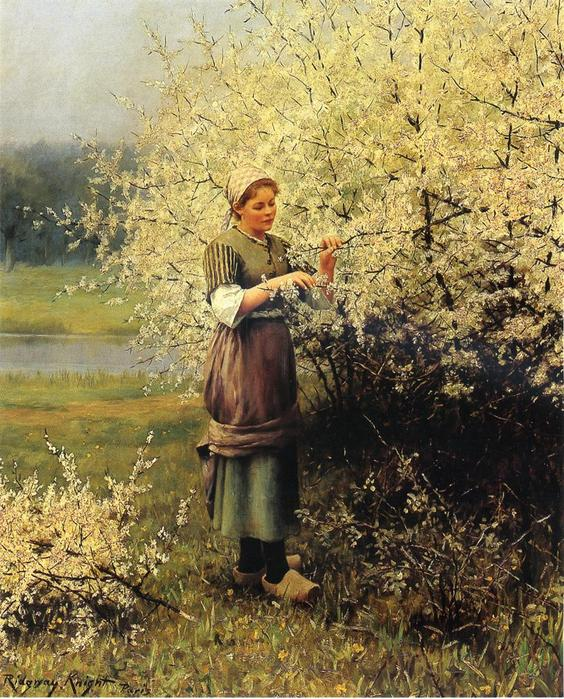 Knight_Daniel_Ridgway_Spring_Blossoms.jpg (564x699, 117Kb)