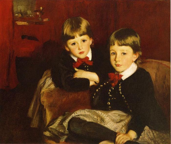 Sargent_John_Singer_Portrait_of_Two_Children_aka_The_Forbes_Brothers sargent 1887.jpg (700x591, 61Kb)
