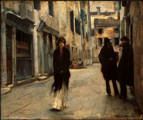 John Singer Sargent's Street in Venice  1882.jpg (465x390, 51Kb)