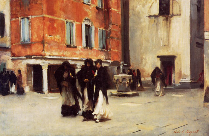 Sargent_John_Singer_Leaving_Church_Campo_San_Canciano_Venice.jpg (699x456, 142Kb)