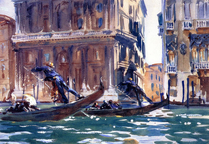 Sargent_John_Singer_On_the_Canal 1903.jpg (699x484, 221Kb)