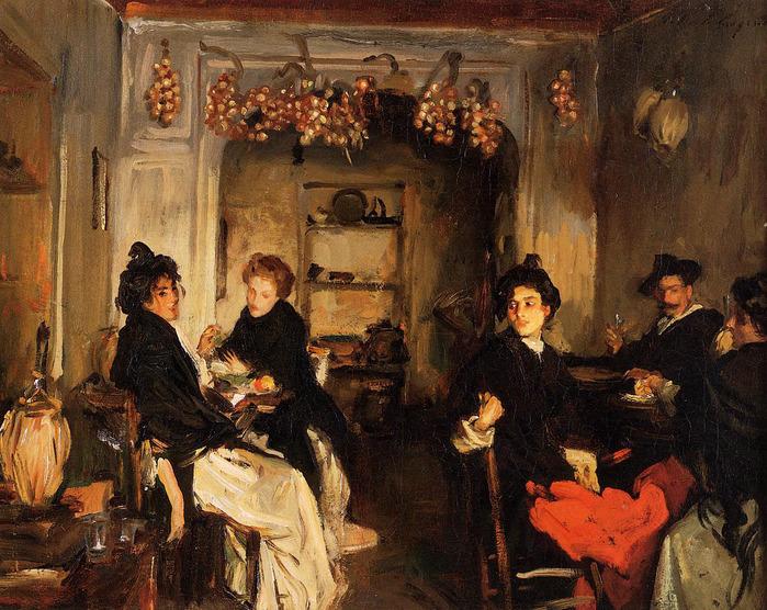 Sargent_John_Singer_Venetian_Wineshop 1898.jpg (699x556, 209Kb)