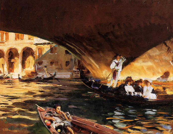 Sargent_John_Singer_The_Rialto .Grand_Canal 1909.jpg (699x544, 207Kb)