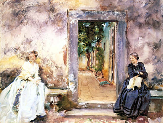sargent The Garden Wall.jpg (550x417, 70Kb)