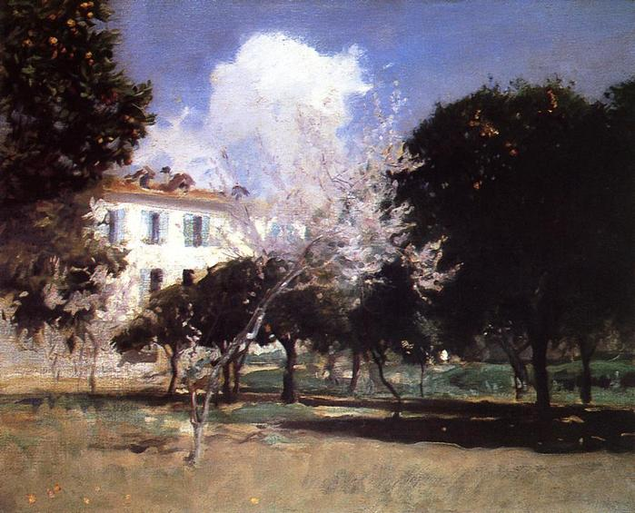 Sargent_John_Singer_House_and_Garden 1883-84.jpg (699x565, 73Kb)