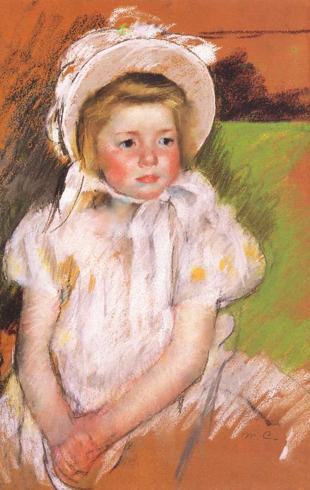 Cassatt_Mary_Simone_in_a_White_Bonnet_1901.jpg (633x1000, 75Kb)