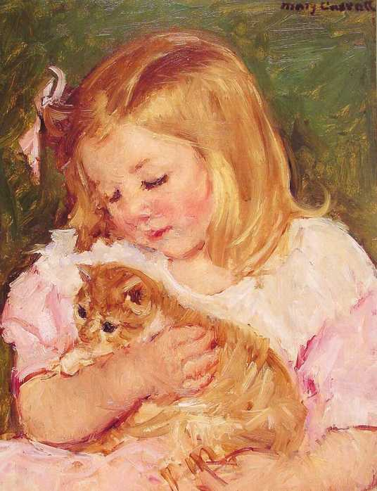 Cassatt_Mary_Sara_Holding_A_Cat_1908.jpg (536x698, 44Kb)