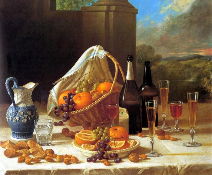 Luncheon_Still_Life ,Francis 1860.jpg (700x578, 182Kb)