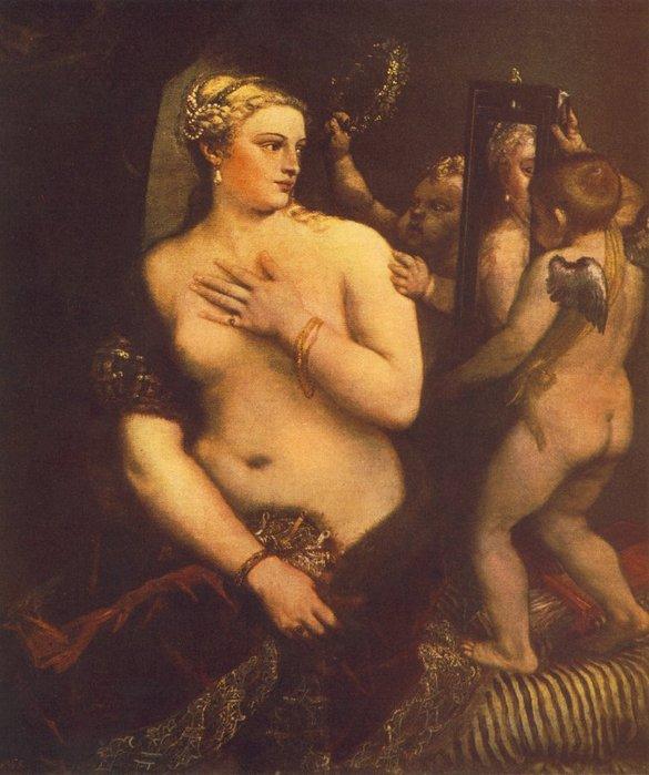 Венера перед зеркалом  Тициан  1560.jpg (585x699, 72Kb)