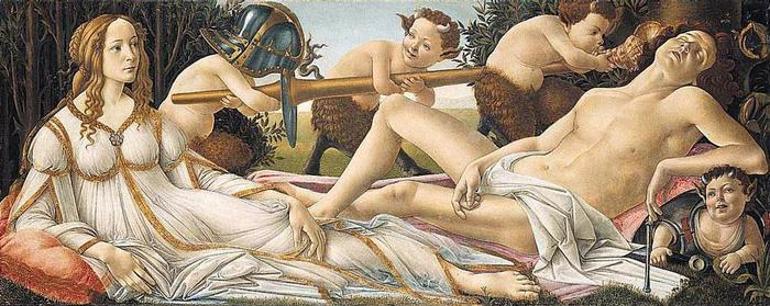 botticelli 1445–1510 Венера и Марс 1480.jpg (700x279, 63Kb)