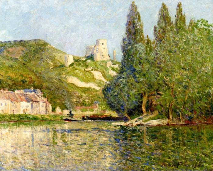 Le Chateau-Gaillard - Maxime Maufra  1903.jpg (699x560, 83Kb)