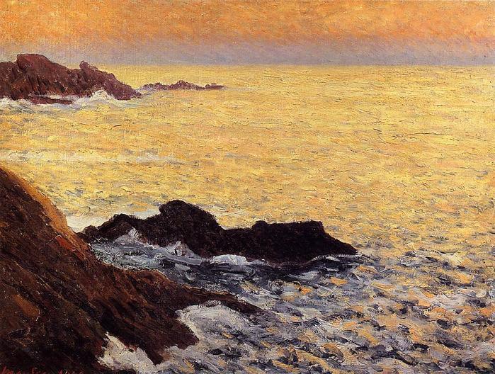 The Golden Sea - Quiberon - Maxime Maufra 1900.jpg (699x528, 104Kb)