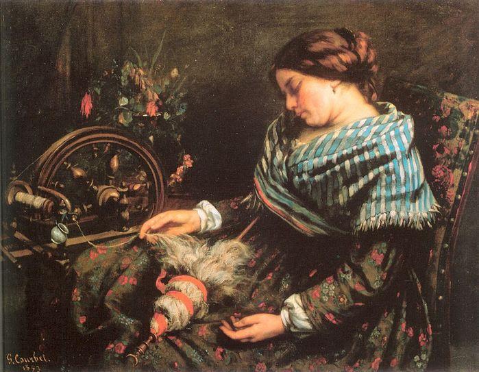 Гюстав Курбе 1819-1877 Спящая прядильщица 1853.jpg (699x543, 87Kb)