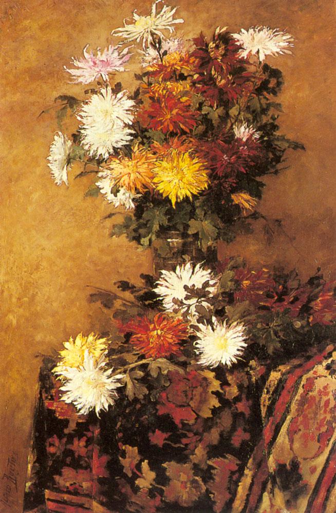 Ruytinx_Alfred_ 1871-) A_Vase_Of_Chrysanthemums.jpg (654x1000, 237Kb)