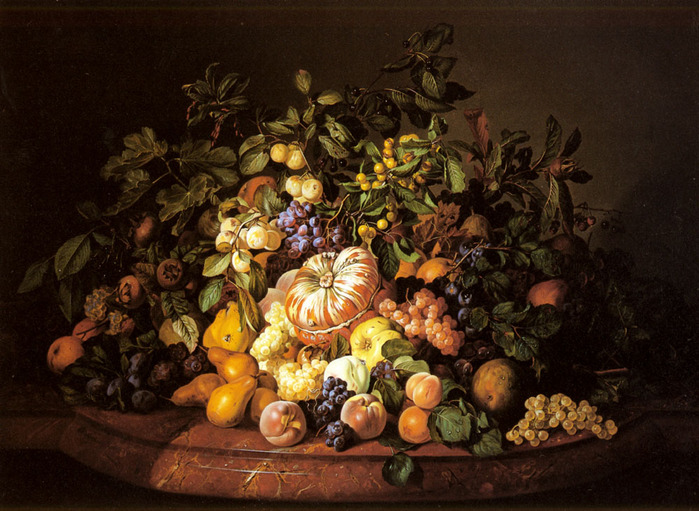 Zinnogger_Leopold_A_Still_Life_Of_Fruit_On_A_Marble_Ledge 1852.jpg (699x511, 166Kb)
