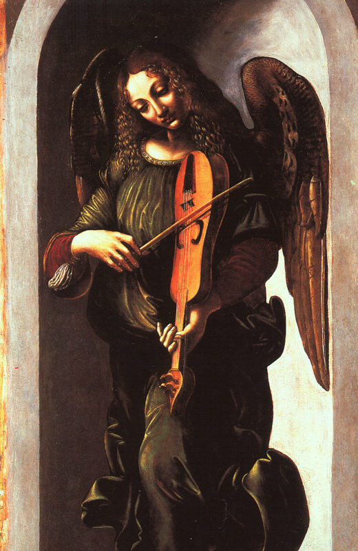 да Винчи Angel in Green with a Veille, 1506.jpg (520x800, 109Kb)