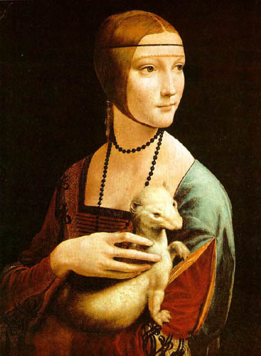 Портрет дамы с горностаем Леонардо да Винчи 1483.jpg (367x500, 38Kb)