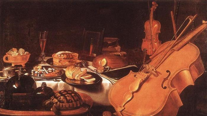 Still_Life_with_Musical_Instruments . Claesz 1623.jpg (699x393, 51Kb)
