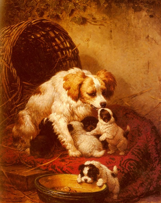 Ronner-Knip_Henriette_The_Happy_Family.jpg (554x699, 147Kb)