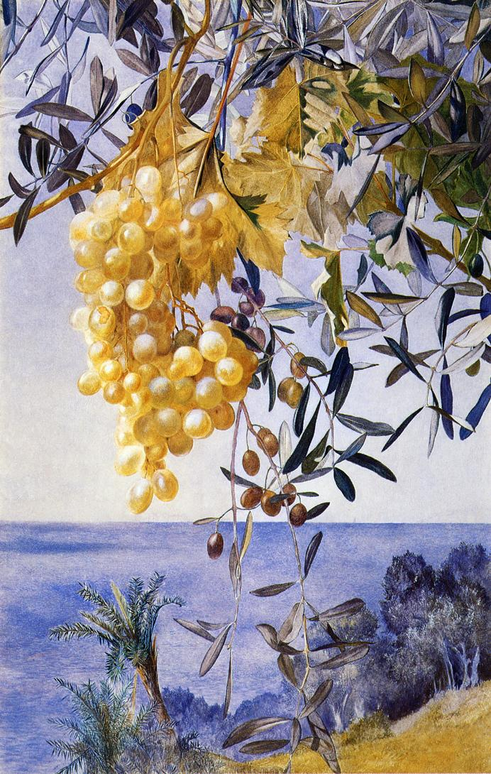 A Cluster of Grapes - Henry Roderick Newman - 1877.jpg (692x1090, 200Kb)
