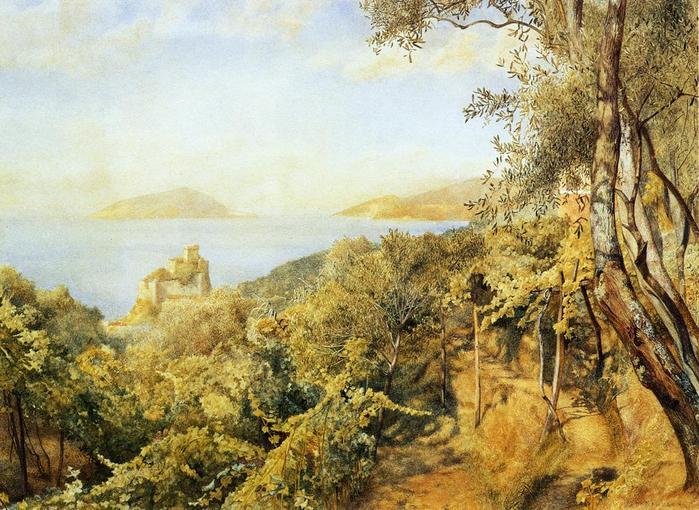 The Priest's Garden - (Henry Roderick Newman - 1883.jpg (699x510, 90Kb)