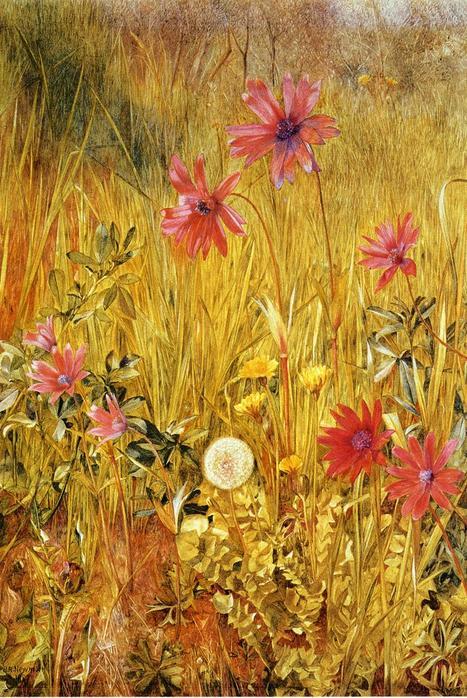 Wildflowers - (Henry Roderick Newman - 1887.jpg (467x698, 98Kb)