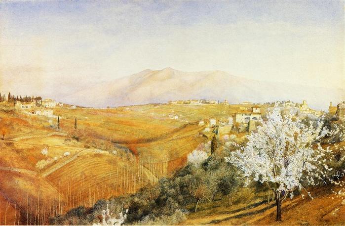 Tuscany - (Henry Roderick Newman - 1886.jpg (699x457, 61Kb)