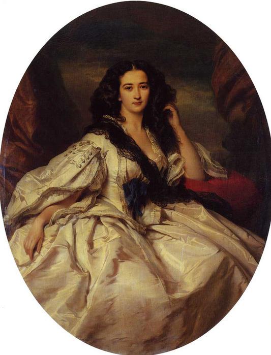 Winterhalter_Franz_Xavier_Wienczyslawa_Barczewska_Madame_de_Jurjewicz 1860.jpg (533x699, 126Kb)