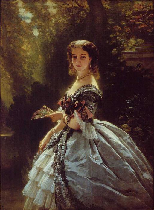 Winterhalter_Franz_Xavier_Princess_Elizabeth_Esperovna_Belosselsky_Belosenky_Princess_Troubetskoi 1859 Винтерхальтер.jpg (515x698, 158Kb)