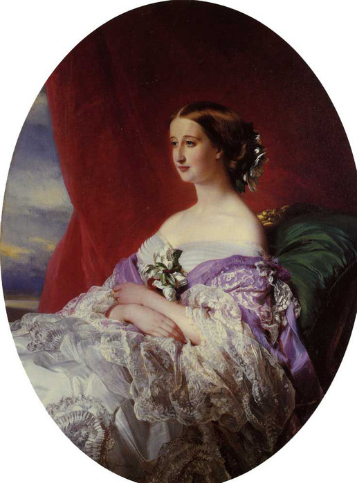 Winterhalter_Franz_Xavier_The_Empress_Eugenie_1854.jpg (516x698, 117Kb)