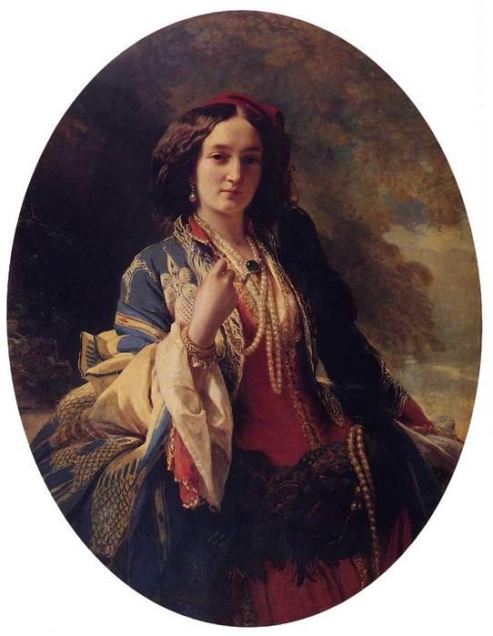 Katarzyna Branicka, Countess Potocka 1854.jpg (542x699, 42Kb)