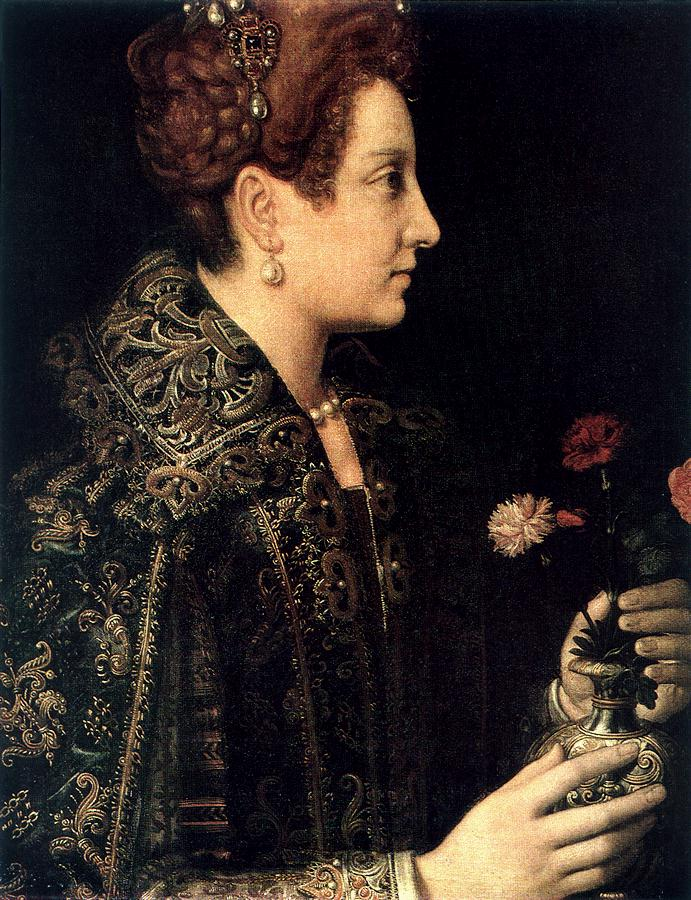 Profile Portrait of a Young Woman Anguissola.jpg (691x900, 152Kb)