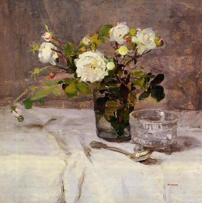 Roses in a Glass - Eva Gonzales 1880.jpg (695x699, 91Kb)