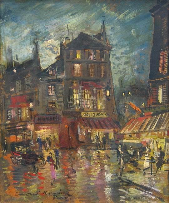 Коровин Константин Алексеевич (1861-1939). Ночной Париж. 1920-1930-е гг..jpg (541x650, 86Kb)