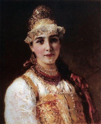 маковский Боярышня.2 1890-е.jpg (408x500, 34Kb)