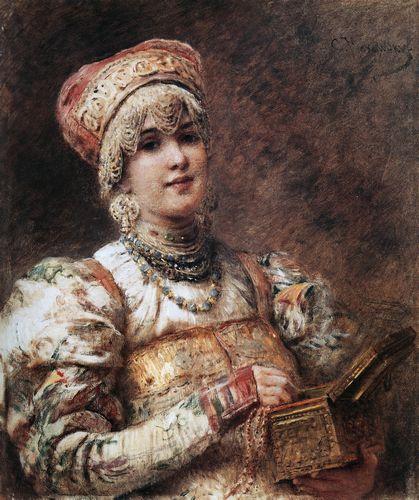 маковский Боярышня. 1890-1900-е.jpg (419x500, 51Kb)