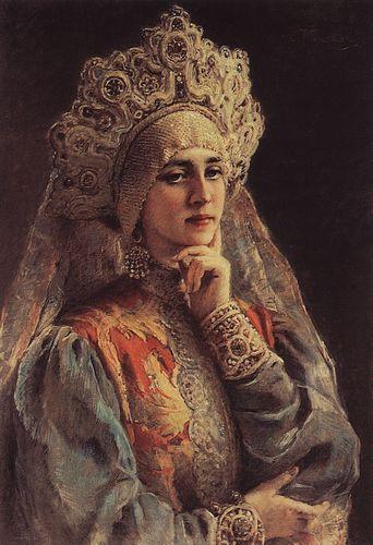 маковский Русская красавица. 1900-е.jpg (342x500, 38Kb)