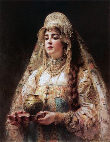 маковский Чарка меду. 1890-е.jpg (386x500, 36Kb)