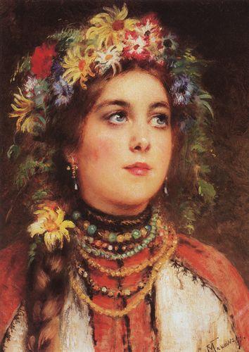 маковский Девушка в венке. 1880-е.jpg (354x500, 37Kb)