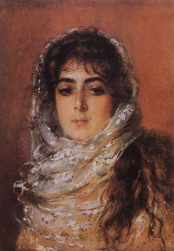 маковский Портрет жены художника Ю.П.Маковской. 1887.jpg (348x500, 34Kb)