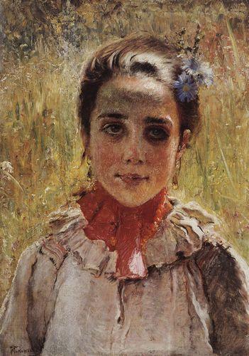 маковский Девочка в поле. 1900-е.jpg (351x500, 44Kb)