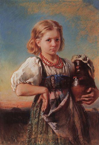 маковский Девочка с кувшином. 1880-е.jpg (340x500, 31Kb)