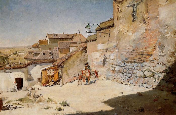 Sunny Spain - (William Merritt Chase - 1882.jpg (699x458, 69Kb)