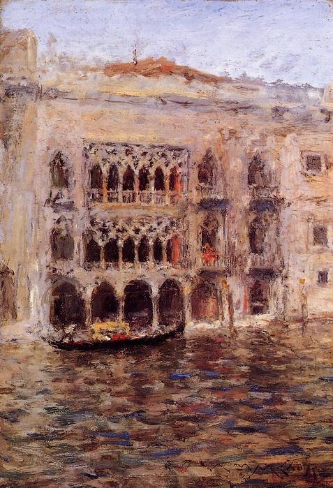 Venice - (William Merritt Chase - 1913.jpg (477x699, 85Kb)